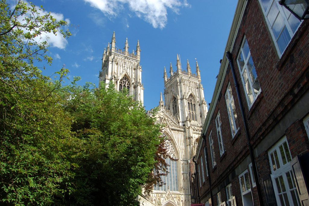York Minster from Precentor's Ct