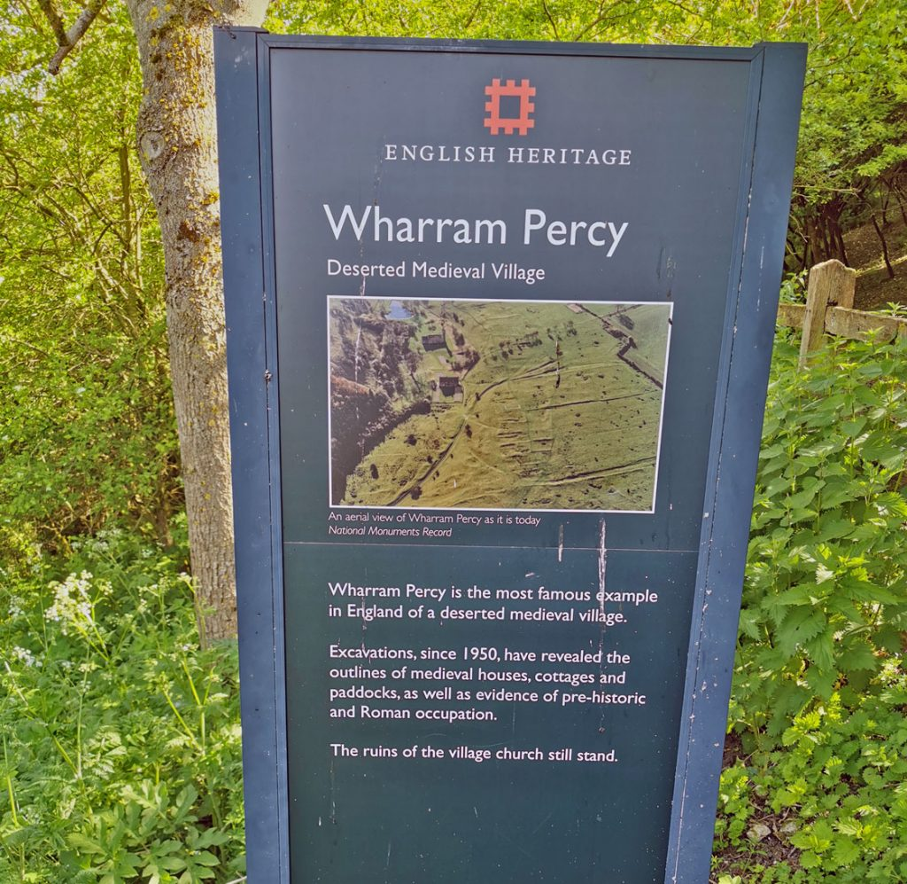 Entrance, Wharram Percy